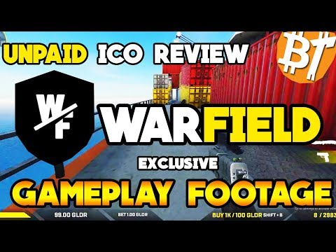 Unpaid ICO review Warfield gameplay footage| thoughts on warfield and cryptocurrency|#Icoreview