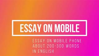 Impact Of Mobile Phones Essay  Motherofinventionstudiocom Positive And Negative Effects Of Mobile Phones Essay Please Watch How  Powerful Is Pakistan Response On Indian Army Chicks Statment  Subscribe  My