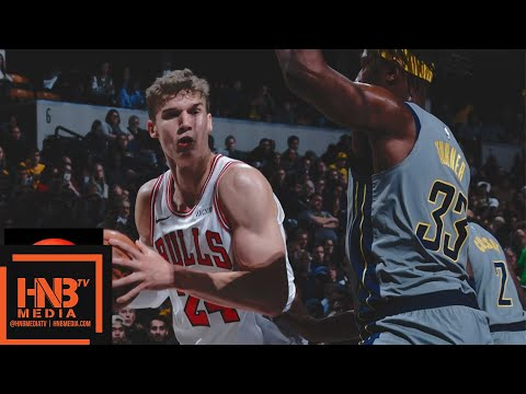Chicago Bulls vs Indiana Pacers Full Game Highlights | 12.04.2018, NBA Season
