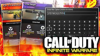 QUARTERMASTER CIPHER CODES REVEAL + FINAL SET OF DLC WEAPONS! (IW QR-M5TR CODES + NEW DLC GUNS)