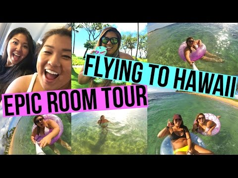 EPIC ROOM TOUR, FLYING TO HAWAII + SNORKELING ADVENTURES!!
