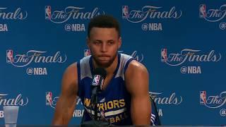 Stephen Curry - Media Availability #2 - Game 5 | Cavaliers vs Warrriors | June 11, 2017 | NBA Finals