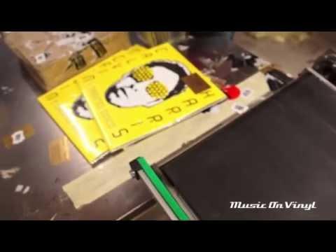 Calvin Harris - I Created Disco vinyl pressing