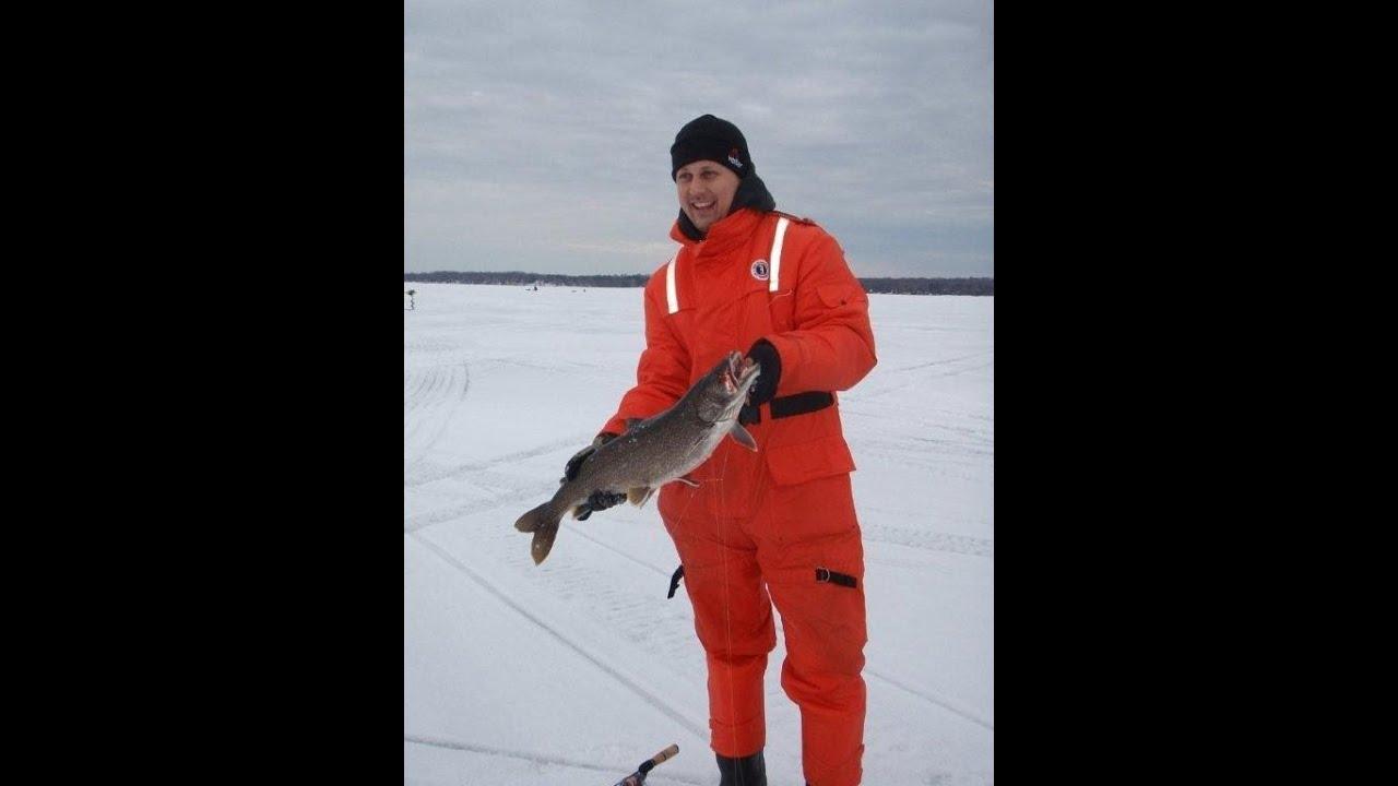Ice fishing lake simcoe 8lb lake trout youtube for Lake simcoe fishing report