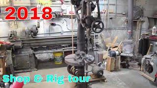 Shop/Rig tour 2018