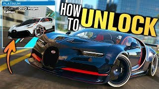 The Crew 2 - How to Unlock NEW Bugatti DIVO MAGMA Edition! (French Touch Summit)