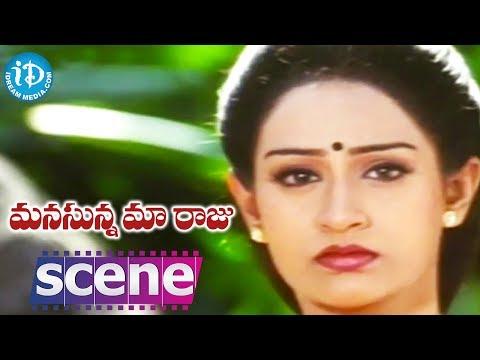 Manasunna Maaraju Movie Scenes - Laya Misunderstands Rajasekhar || Brahmanandam