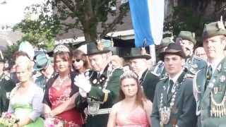 Bundesköniginnentage der Zapfenstreich 2014  Königshoven