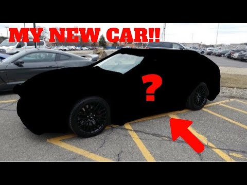 I BOUGHT A NEW CAR!! I CAN'T BELIEVE I BOUGHT THIS CAR..