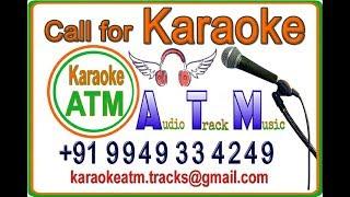 Chukkala pallakilo Karaoke with Female Voice for Male singers