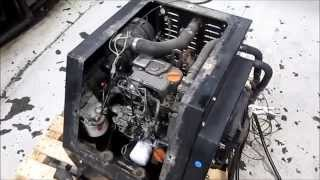 Thermoking Tripac Ingersoll Rand TK270M Engine Running by Frontier Truck  Parts