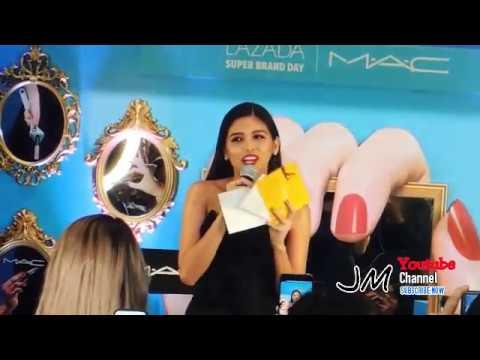 Maine Mendoza at MAC Lipstick Event #MACXLAZADAPH #MACLOVESLIP