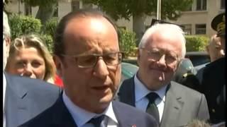 الرئيس الفرنسي فرانسوا هولاند يشيد بالتعاون المغربي لمكافحة المخدرات