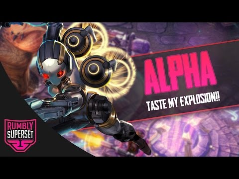 Vainglory - Road to Vainglorious [Gold] - TASTE MY EXPLOSION!! Alpha |CP| Jungle Gameplay [2.2]