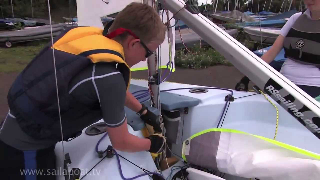 How to sail - How to Rig a Sailing Boat