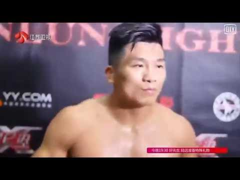 张立鹏 Zhang Lipeng vs Jan Quaeyhaegens Kunlun Fight