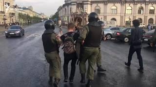 Задержания в Казани. 9.09.2018
