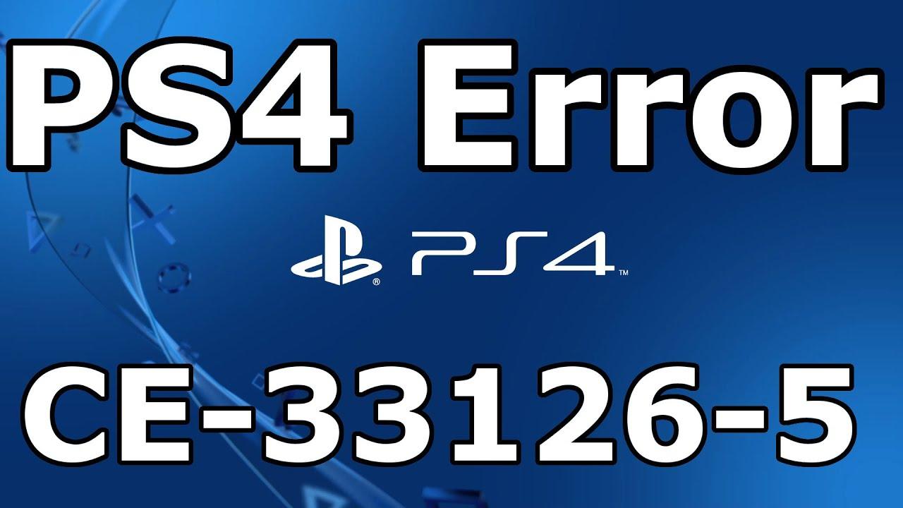 Ps4 Fehlercode