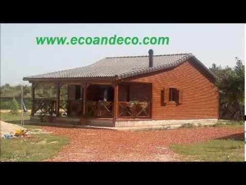 Casas de madera modelo murcia youtube for Casas de madera murcia