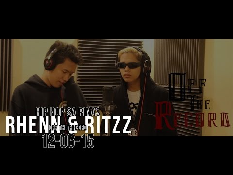 Emcee Rhenn & Ritzz - Off The Record (Hip Hop sa Pinas)