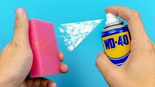 18 IDEAS INCREÍBLES CON WD-40