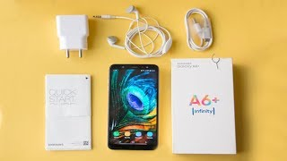 Samsung Galaxy A6 Plus Full Unboxing And Camera Review in Hindi