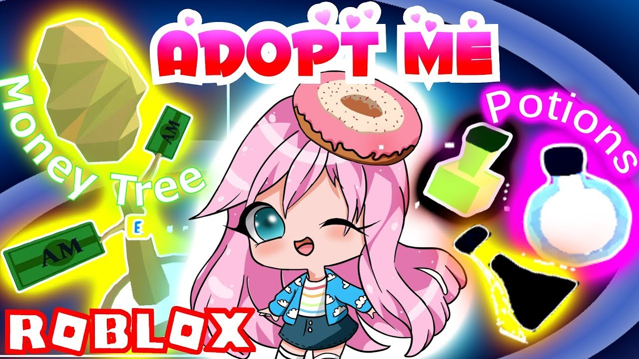 New Rare Money Tree Magic Potions In Adopt Me Roblox