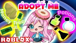 💖 NEW * RARE MONEY TREE & MAGIC POTIONS in ADOPT ME! ROBLOX Saving for The Most Expensive House! 💸