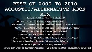 FM Static, Secondhand Serenade, Boys Like Girls, Red Jumpsuit Apparatus, Five 4 Fighting