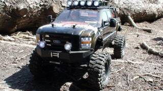 """RC ADVENTURES - SCALE RC TRUCKS # 6 - FORD F350 """"INTO THE WILD - A NATURE RUN """""""