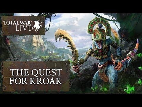The Quest for Kroak - Total War: WARHAMMER II - The Prophet & The Warlock