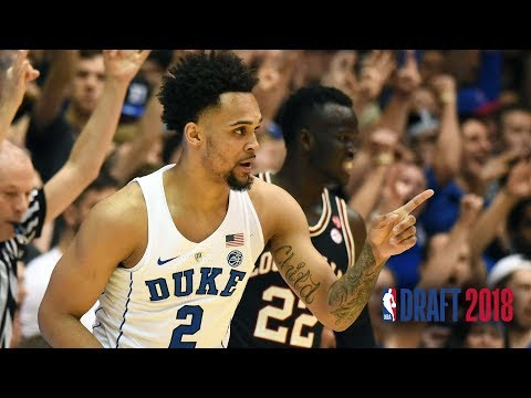 Gary Trent Jr. NBA Draft Tape | Duke thumbnail