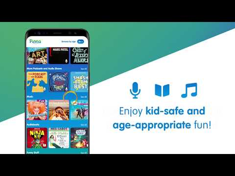 Pinna: podcasts, music & audio books for kids - Apps on Google Play