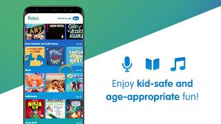 Pinna: Awesome Audio for Kids! Ad-free podcasts, music & audiobooks all in one place.