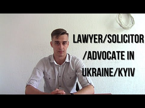 Lawyer/Solicitor/Advocate in Ukrain/Kiev