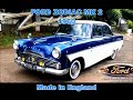 Ford Zodiac MK II 1960 made in England.
