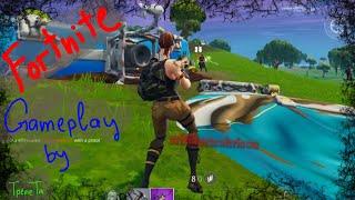 Fortnite Gameplay kills by TpeneTa on iPad pro