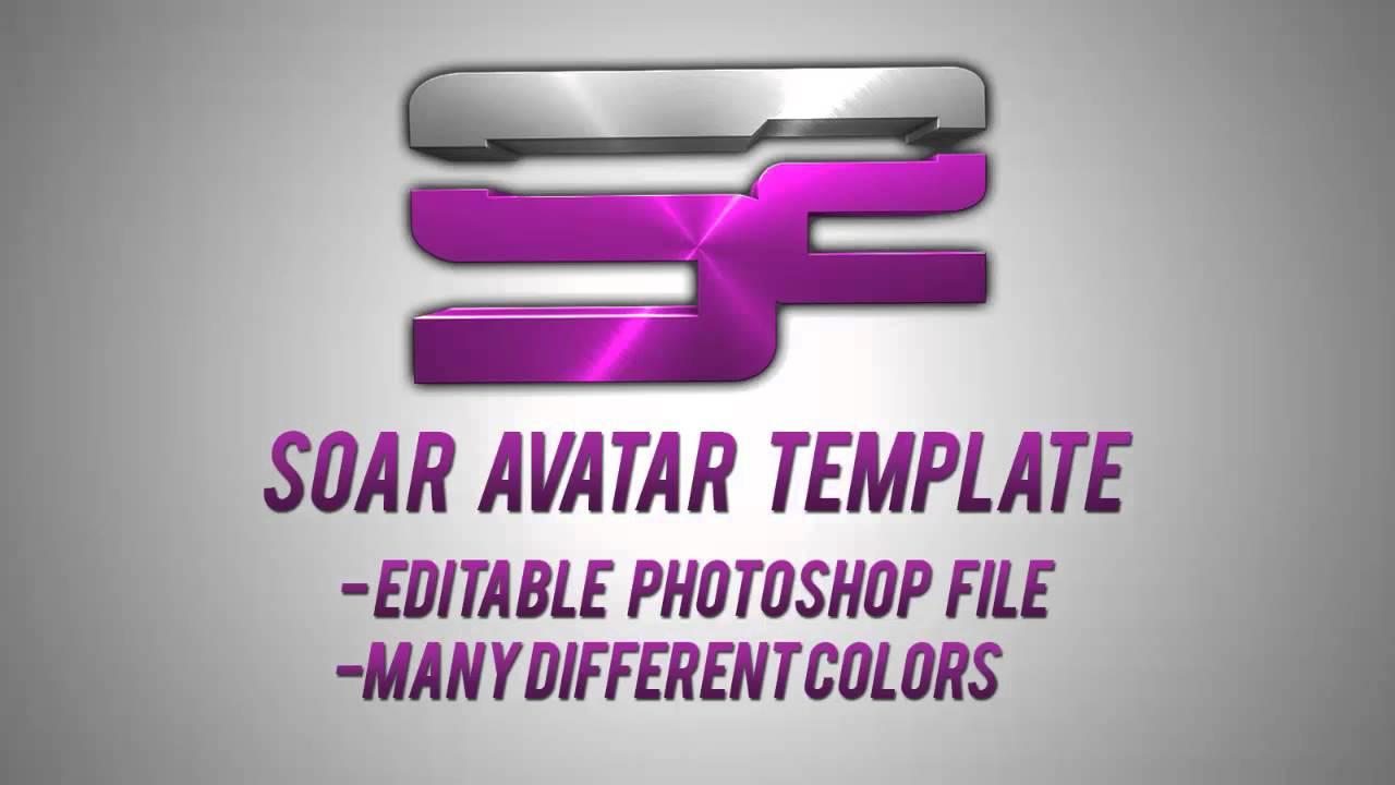 Soar Avatar Template Giveaway   Psd   V1