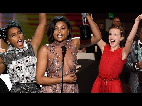 7 BEST Moments From The 2017 SAG Awards