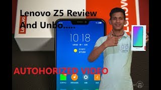 Lenovo Z5 🔥- The BIG Lie - Best in Class - My Opinions