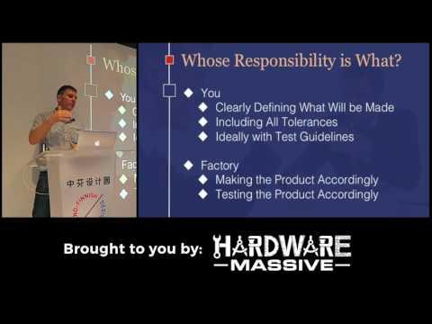Manufacturing for Hardware Startups | Greg Fisher