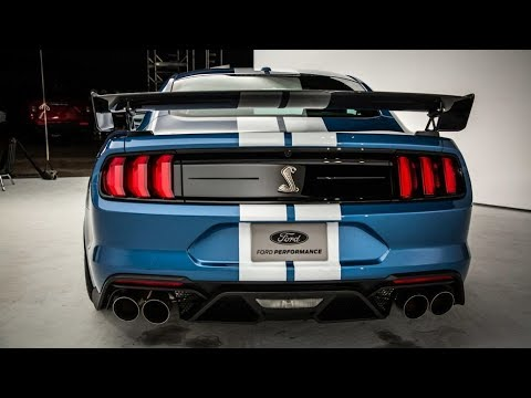 2020 Ford Mustang Shelby GT500 Exhaust REVS = LOUD!