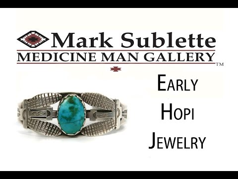 Early Native American Hopi Jewelry: How to Identify Antique Hopi Jewelry