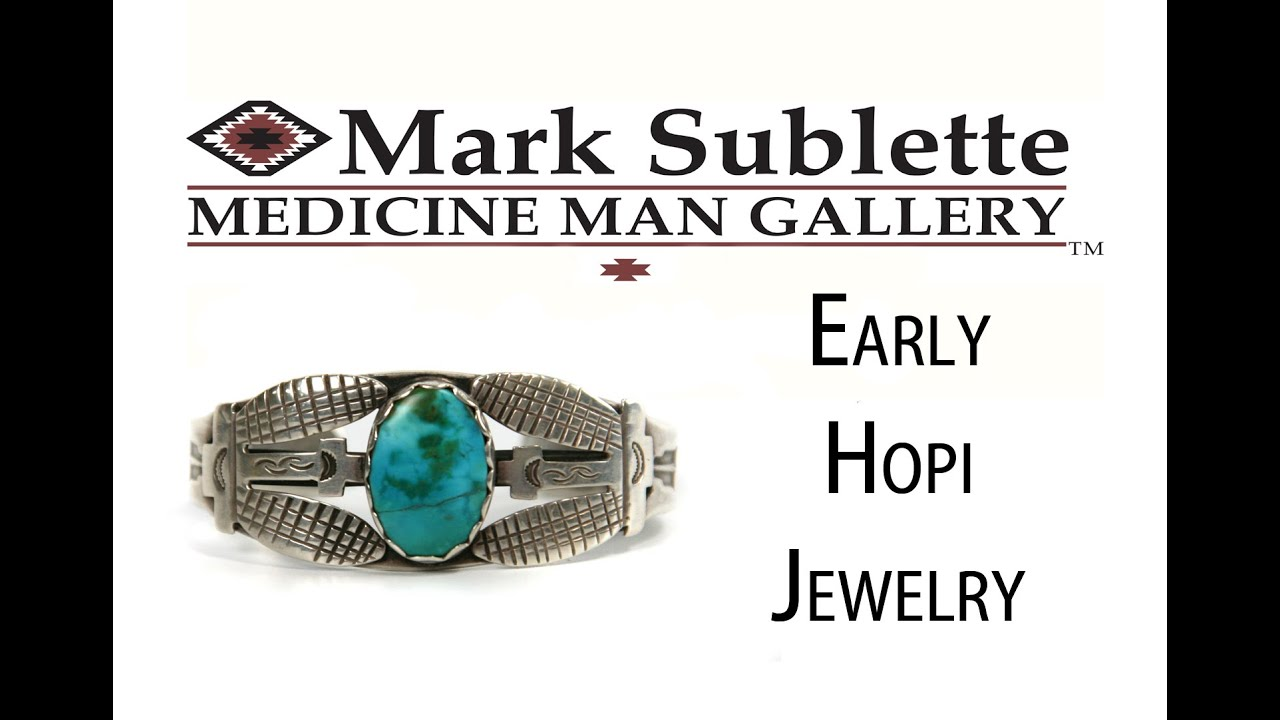 Early Native American Hopi Jewelry How
