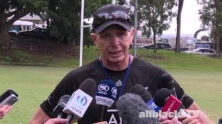Coach Gordon Tietjens discusses Sydney Sevens
