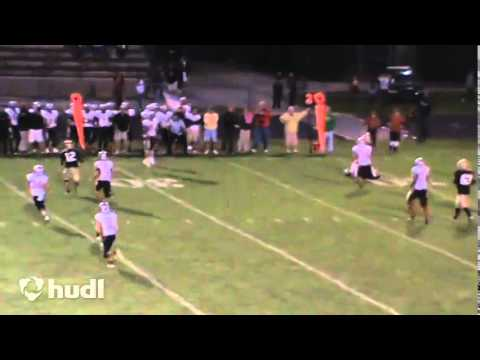 Chris Valentine Speedway High School Football Highlights 2014