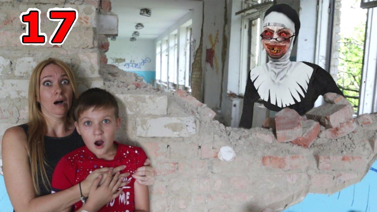 Монахиня в заброшенной школе в реальной жизни! 17 серия Тайна МАСКИ Evil Nun / Супер Тима