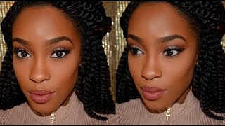 Morphe 35O Matte Palette Tutorial | Warm Neutral Eye