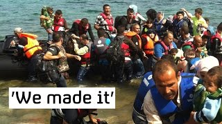 Refugee crisis: new boats still arriving on Lesbos island