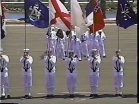 US Navy RTC San Diego Graduation August 1993 Companies 132 through 137